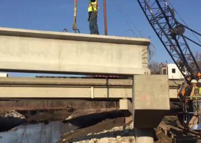 Warren County Bridge Beams