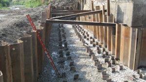 Grand Avenue Bridge work.