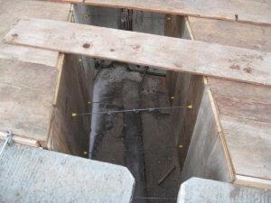 Warren County bridge construction.