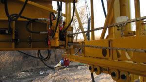 Herberger machinery in Lawrence, Kansas.
