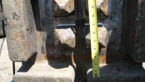 Herberger crews take measurements of bridge elements.
