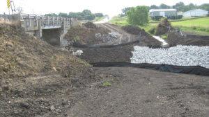 Massena bridge work by Herberger Construction.