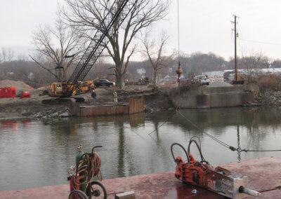 Bridge Removal in Ottumwa, IA | Wapello County | 2012