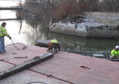 Ottumwa Bridge Removal 8