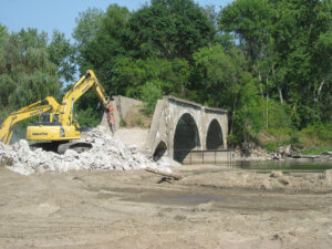 Herberger completes work in Waterloo, Iowa doing remediation and sandpoints.