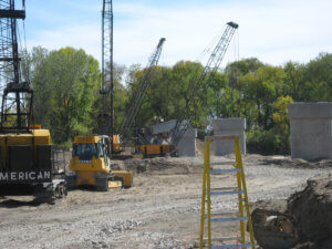 Herberger equipment works in Waterloo, Iowa.