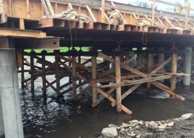 Slab Bridge over Little Beaver Creek   Dallas County   2016