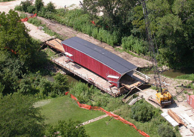 Cedar Bridge Rebuild/Replace | Madison County | 2003