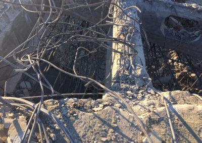 North River bridge scrap