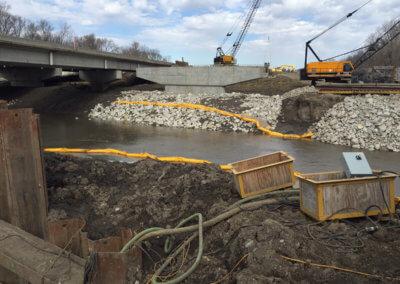 North River Warren County Bridge