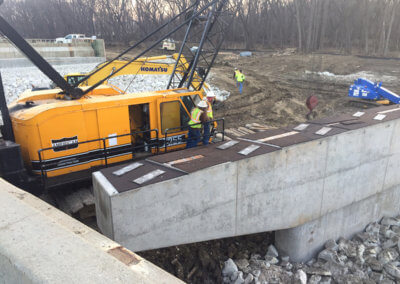 North River Beam Placement