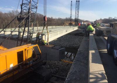 North River Crane Work