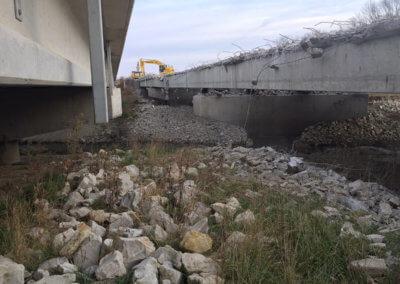 Warren County Bridge Demolition
