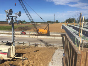 Herberger Construction completes beam placement.