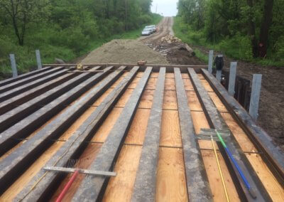 Beam-In-Slab Bridge on 230th Avenue, over Branch Flank Creek | Warren County | 2019