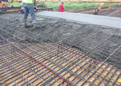Concrete Slab Bridge on U Avenue over Montgomery Creek | Boone Co. | 2019