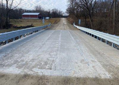Concrete Box Beam Bridge on G46, over drainage | Madison County | 2019