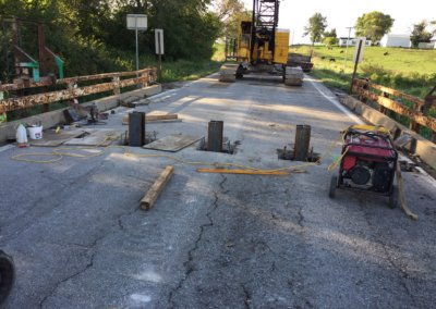 Bridge Repair on NE 108th Street, over Camp Creek   Polk County   2019