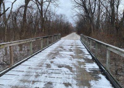 Bridge Repair on Summerset Trail, over Middle River   Warren County   2019