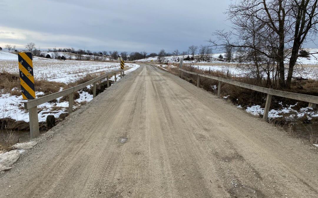 Slab Bridge on Jade Avenue, over Carter Creek | Davis County | 2020