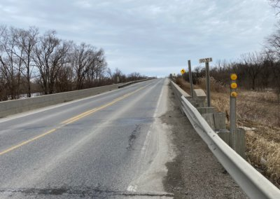 Slab Bridge (S.B.) on US 63, over Drainage Ditch   Wapello County   2020