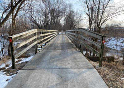 Bridge Rehabilitations on Raccoon River Valley Trail | Dallas County | 2020